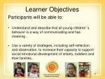 learner objectives4