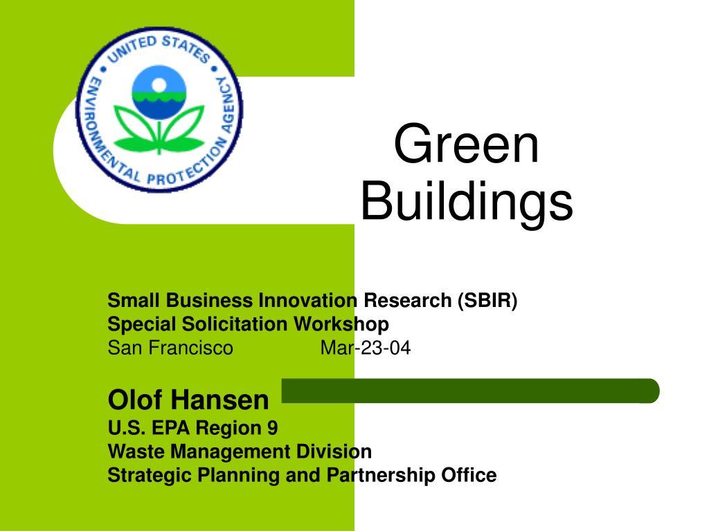 green buildings l.