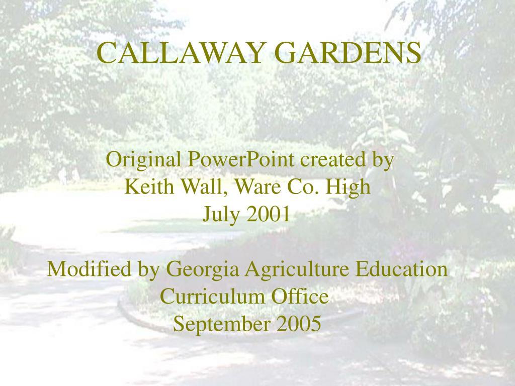 callaway gardens l.