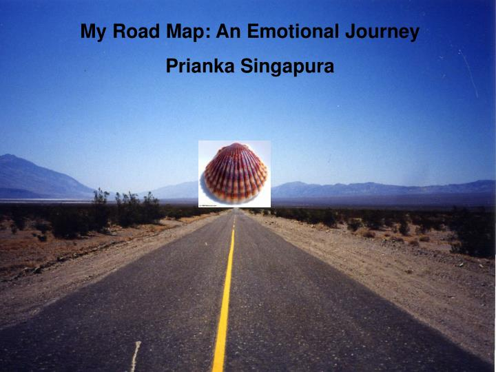 My Road Map: An Emotional Journey