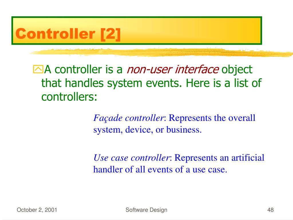 Controller [2]