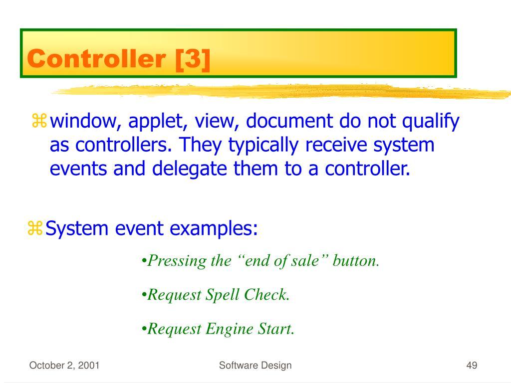 Controller [3]