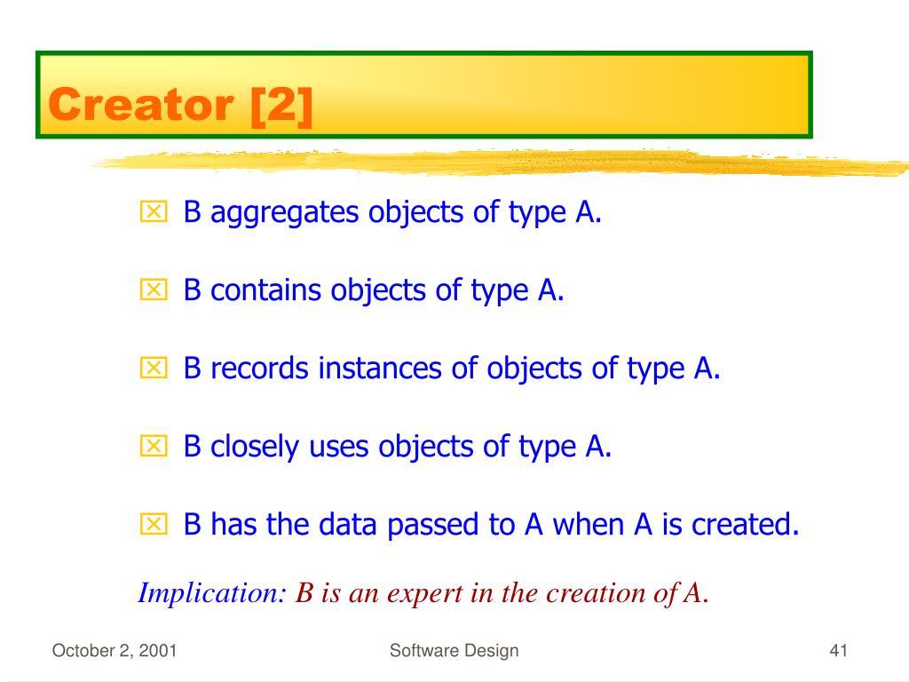 Creator [2]