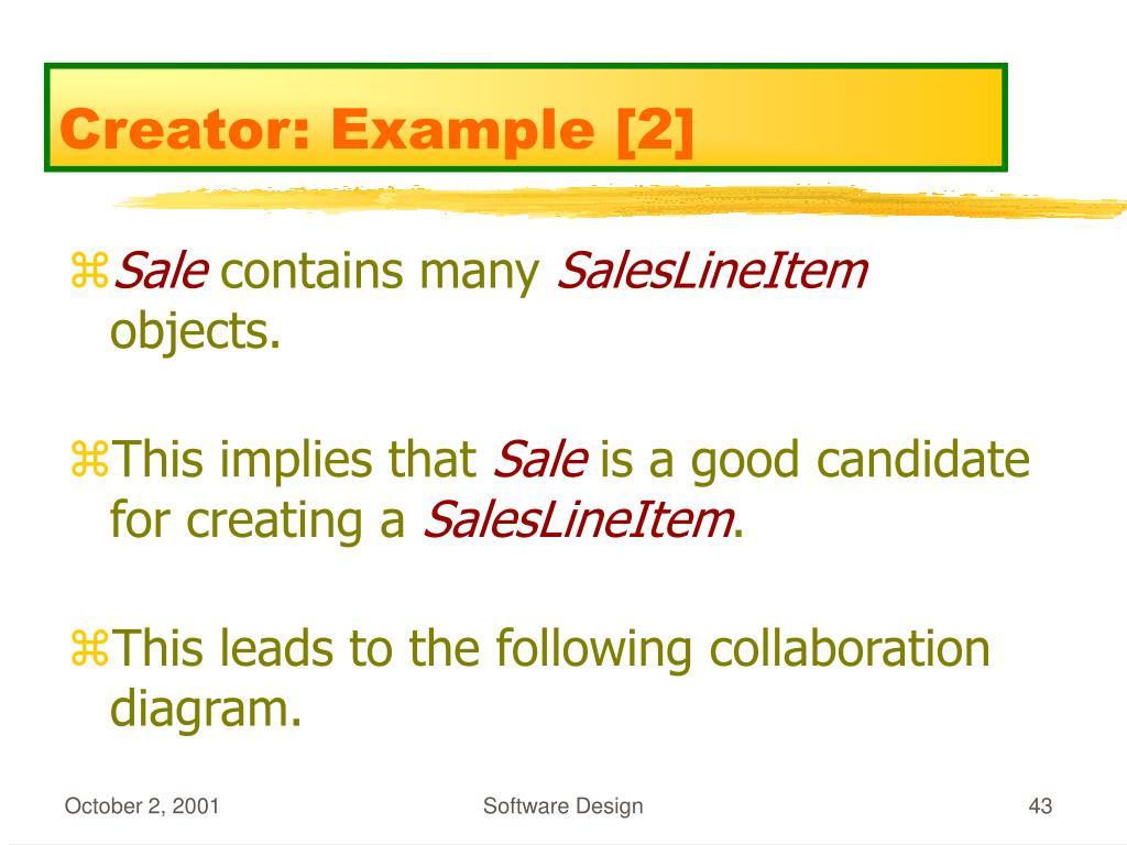 Creator: Example [2]