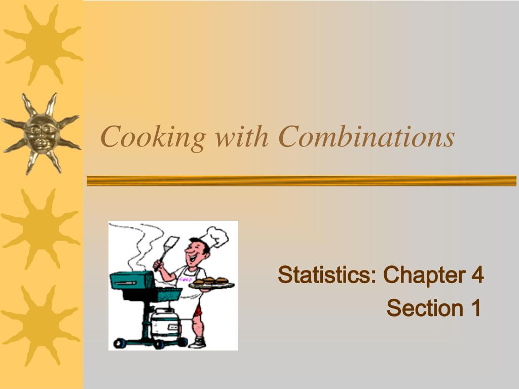 cooking with combinations l.