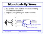 monotonicity woes18