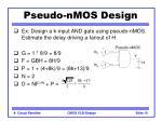 pseudo nmos design10