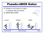 pseudo nmos gates