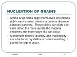 nucleation of grains8