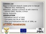 sa legal framework