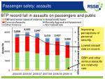 passenger safety assaults