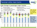 passenger safety major injuries