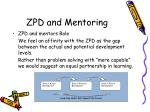 zpd and mentoring