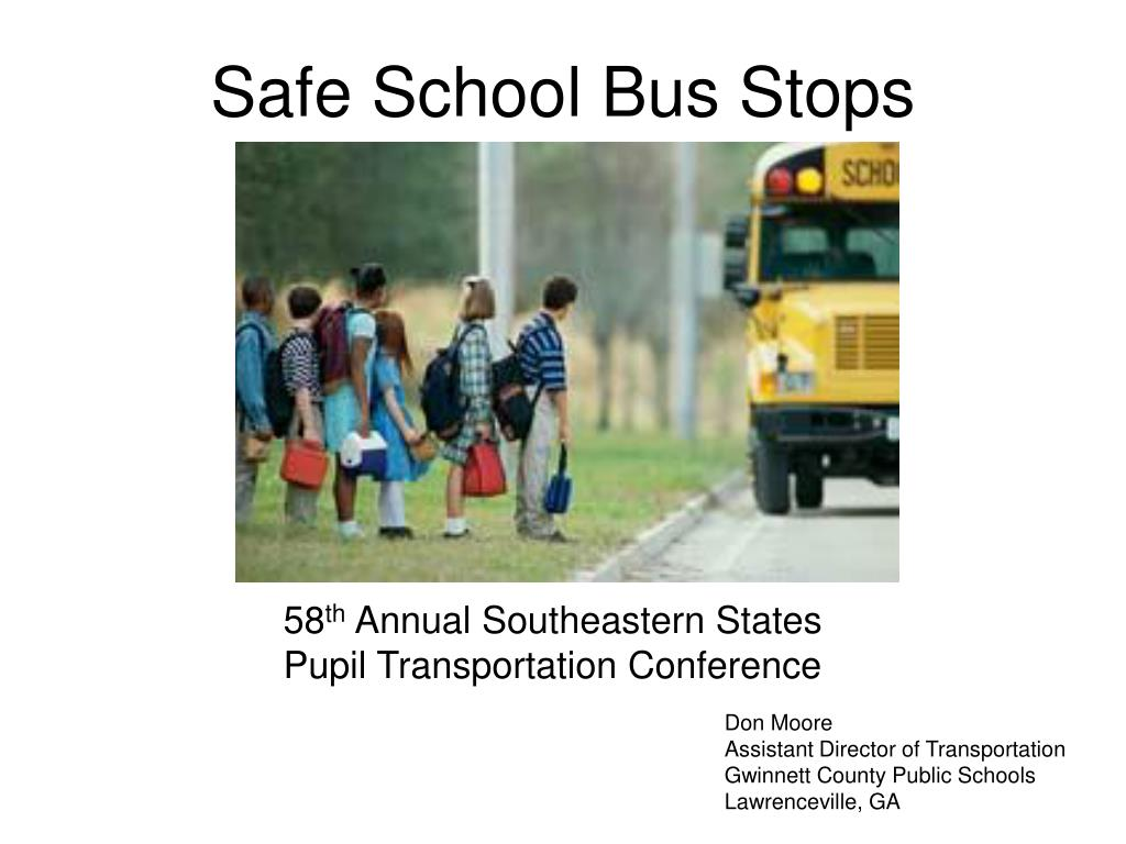 safe school bus stops l.