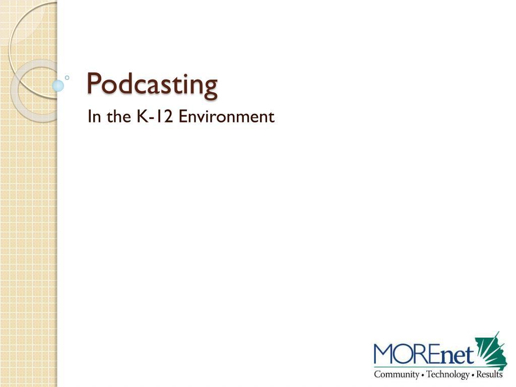 podcasting l.