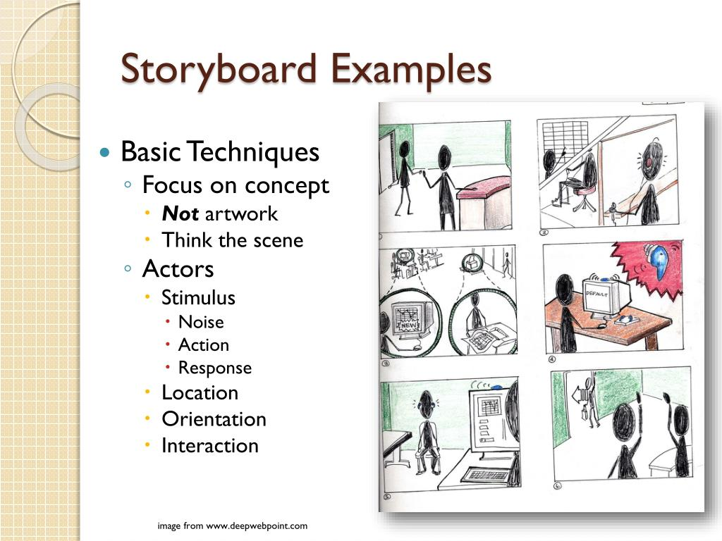 Storyboard Examples