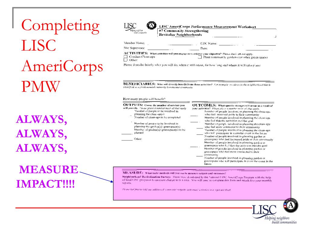 Completing LISC