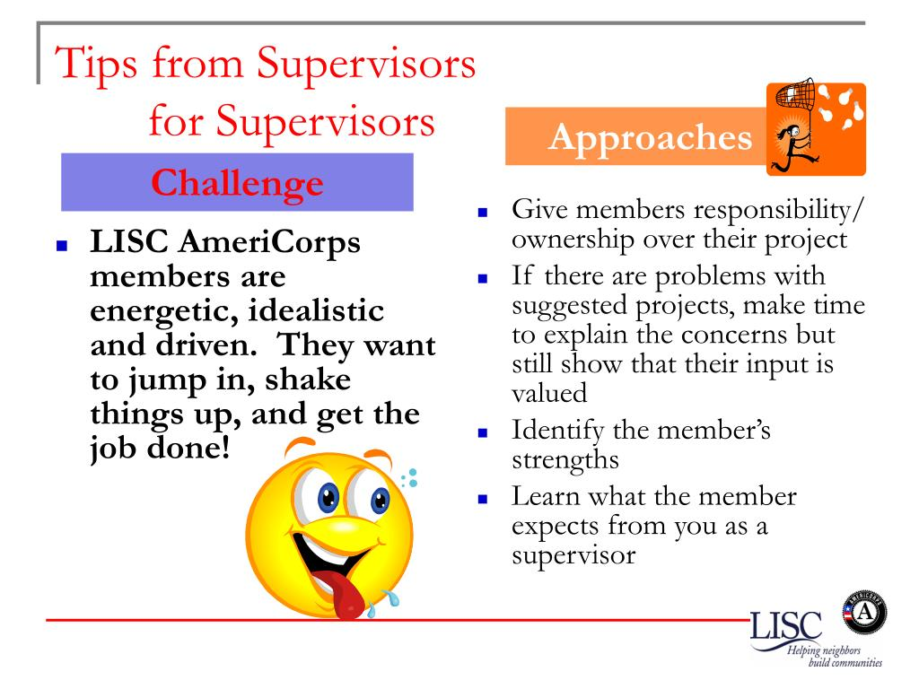 LISC AmeriCorps members are energetic, idealistic and driven.  They want to jump in, shake things up, and get the job done!