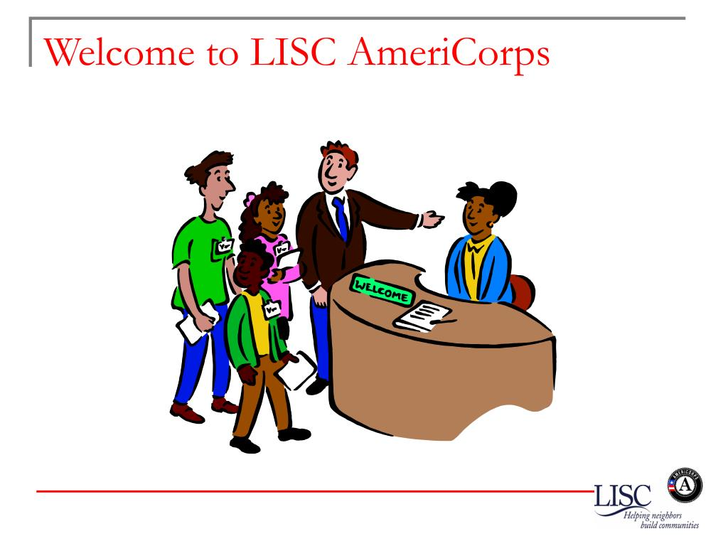 Welcome to LISC AmeriCorps