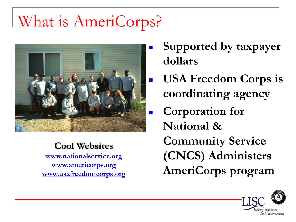 What is AmeriCorps?