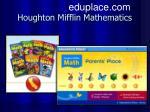 houghton mifflin mathematics