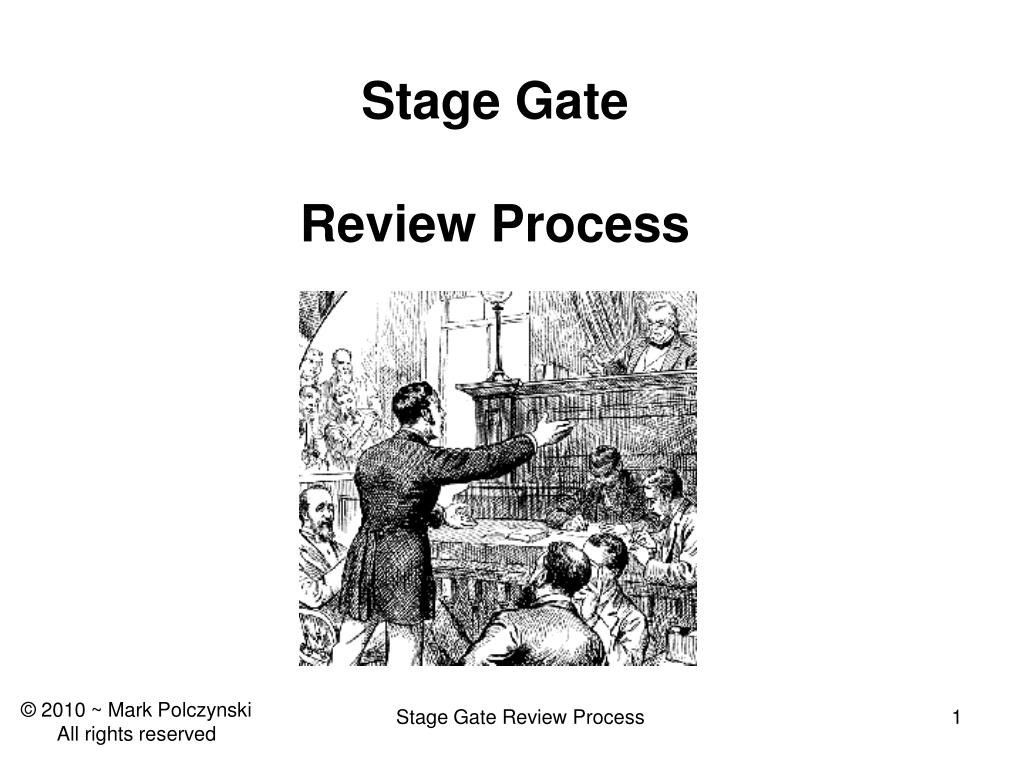 stage gate review process l.