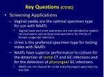 key questions ct gc5