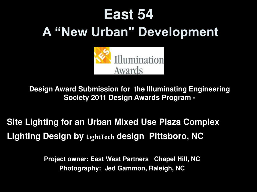 east 54 a new urban development l.