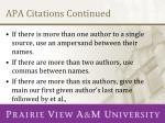 apa citations continued