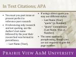 in text citations apa