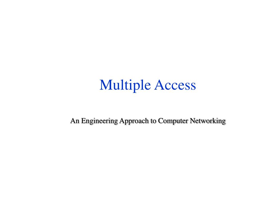 multiple access l.