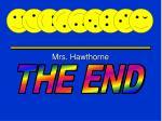 mrs hawthorne