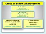 office of school improvement