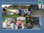 short term special interest group activities