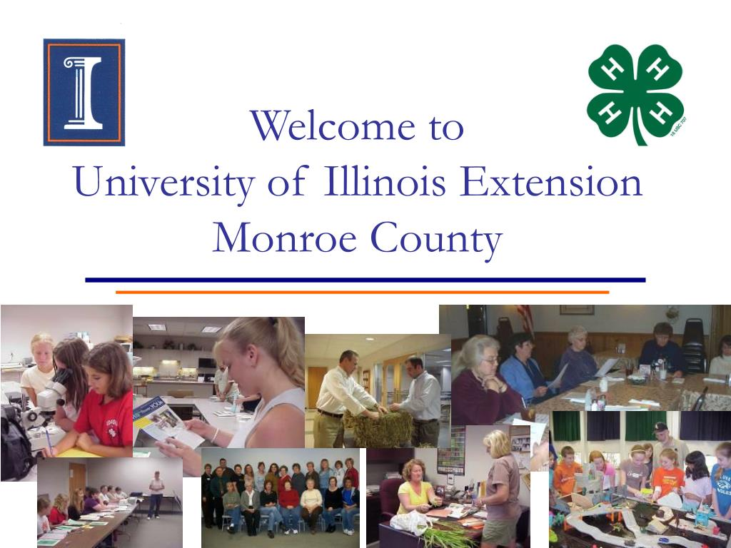 welcome to university of illinois extension monroe county l.