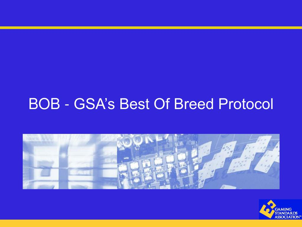 bob gsa s best of breed protocol l.