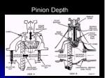 pinion depth6