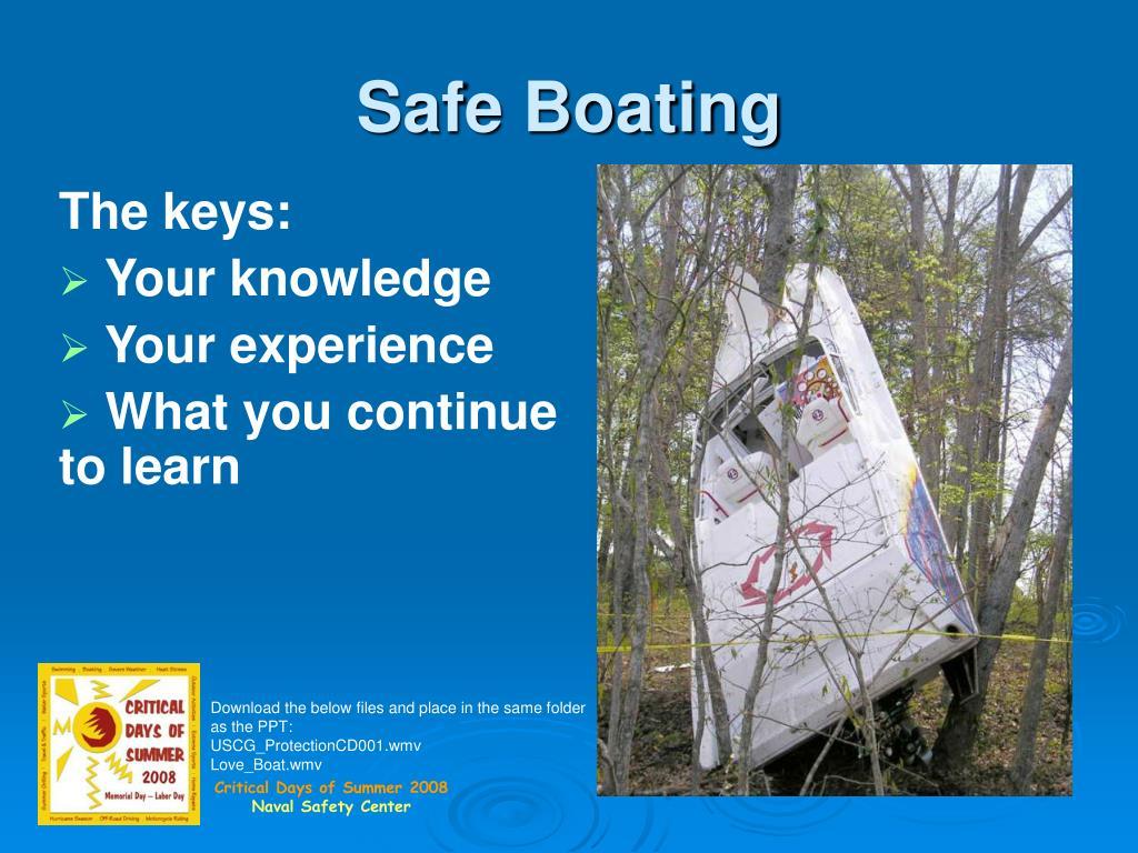 safe boating l.