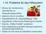1 10 probleme f r das hilfesystem