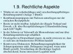 1 9 rechtliche aspekte