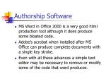 authorship software29