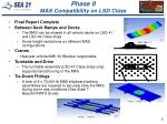 phase ii mas compatibility on lsd class