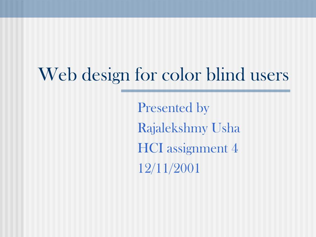 web design for color blind users l.