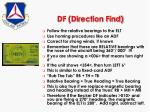 df direction find
