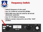 frequency switch