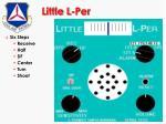 little l per