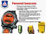 personal beacons