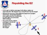 pinpointing the elt