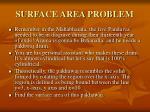 surface area problem
