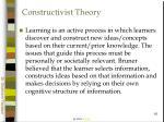 constructivist theory16